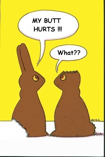 Chocolate Easter Bunny Chat